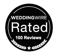 Say Cheese earns 100 reviews on Wedding Wire