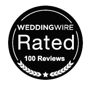 Say Cheese Photo Booth earns 100 reviews on Wedding Wire!